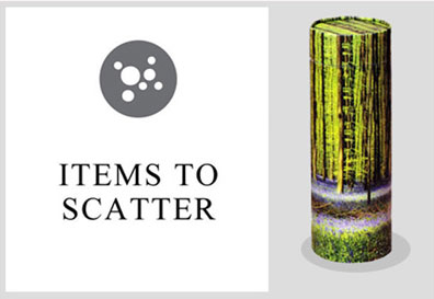 Items to Scatter
