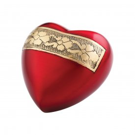 Red Velvet Keepsake Heart